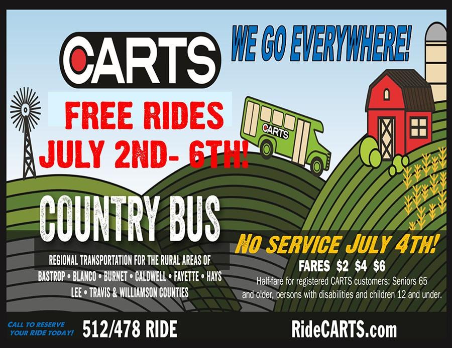 CARTS Free Rides