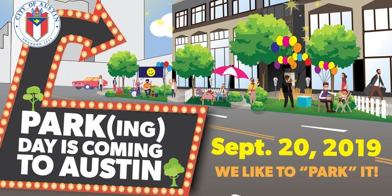 Park(ing) it Day Banner